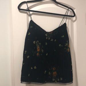 Black Velvet Zara Camisole